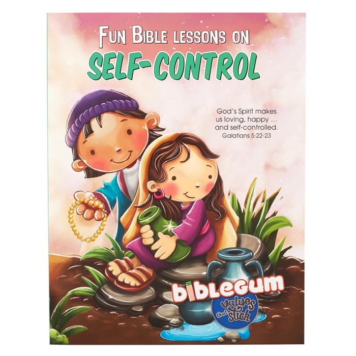 Fun Bible Lessons on Self-Control (Paperback)
