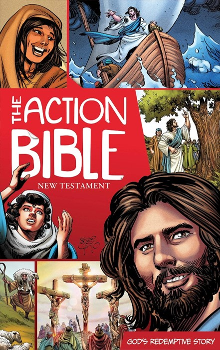 The Action Bible New Testament (Paperback)