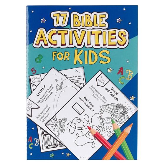77 Bible Activities for Kids (Paperback)