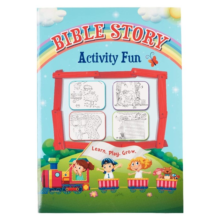 Bible Story Activity Fun (Paperback)