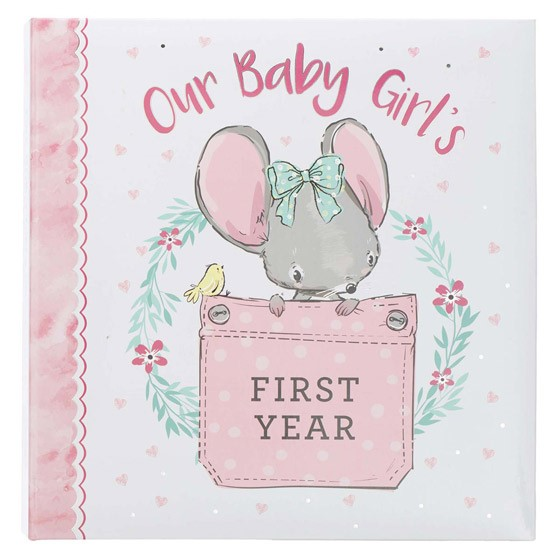 Our Baby Girl's First Year (Hard Cover)