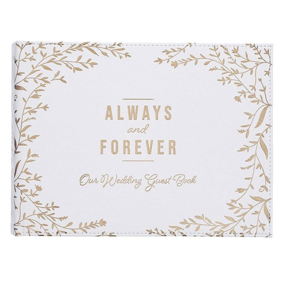 Forever Guest Book (Imitation Leather)