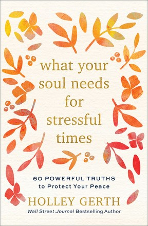 What Your Sould Needs for Stressful Times (Hard Cover)