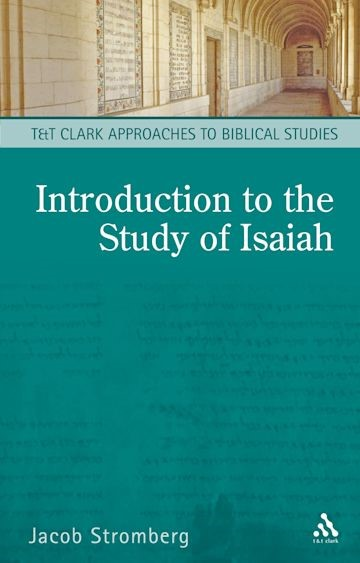 Introduction to the Study of Isaiah, An (Paperback)
