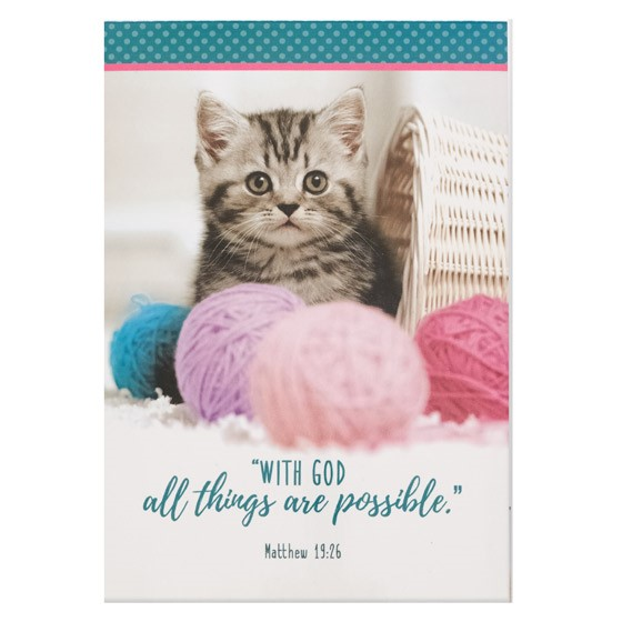 All Things Possible Notepad (Paperback)