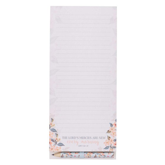 Every Morning Magnetic Notepad (Notebook / Blank Book)