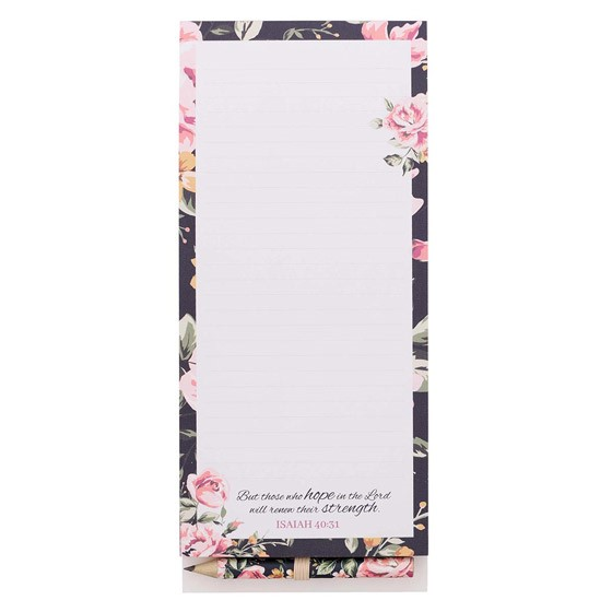 Those Who Hope Magnetic Notepad (Notebook / Blank Book)