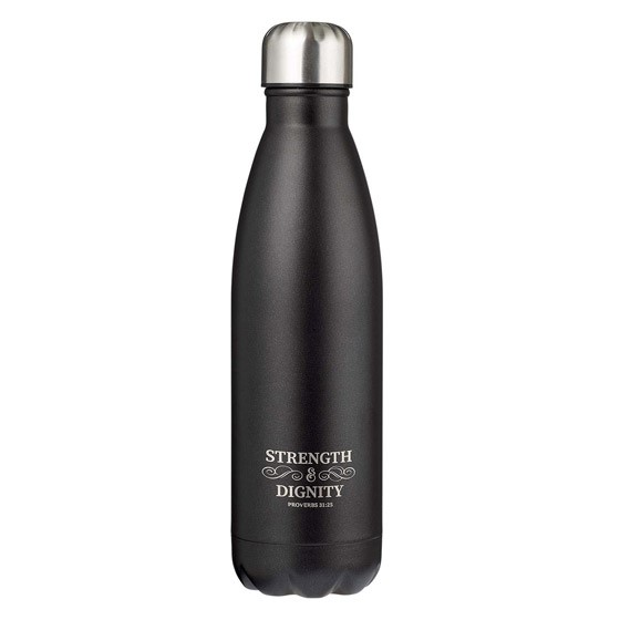 Strength & Dignity Stainless Steel Water Bottle (General Merchandise)