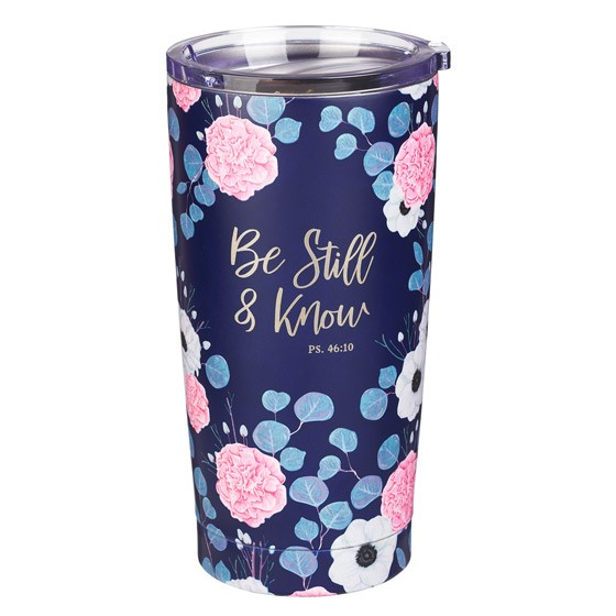 Be Still Stainless Steel Mug (General Merchandise)