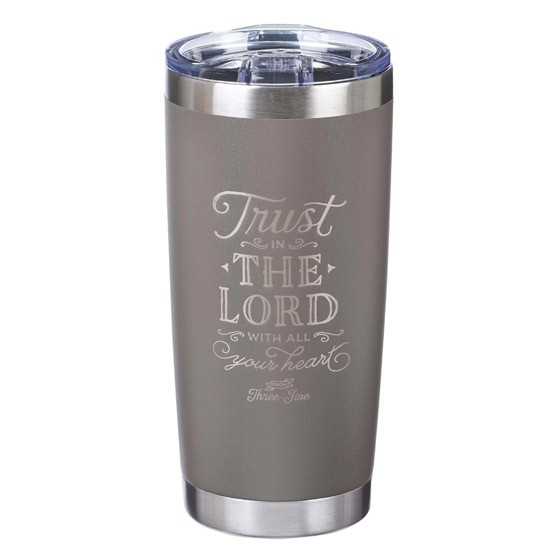 Trust in the Lord Stainless Steel Mug (General Merchandise)