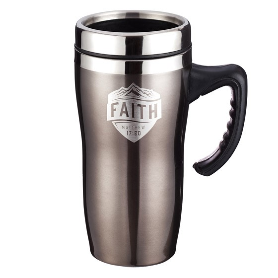 Faith Stainless Steel Mug with Handle (General Merchandise)