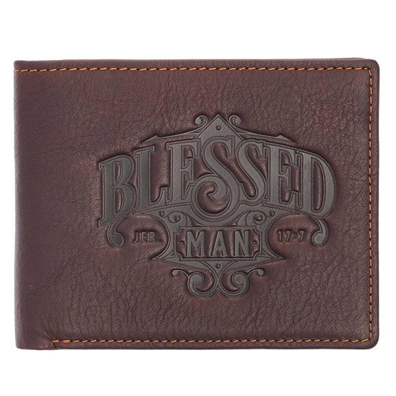 Blessed Man Leather Wallet (General Merchandise)