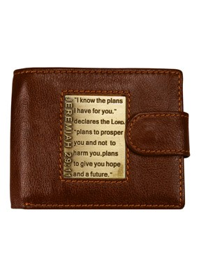 I Know the Plans Leather Wallet (General Merchandise)
