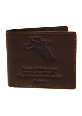 Isaiah 40:31 Leather Wallet (General Merchandise)