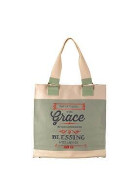 Retro Grace Canvas Tote Bag (General Merchandise)