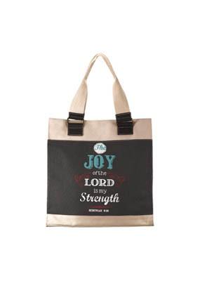 Retro Joy Canvas Tote Bag (General Merchandise)
