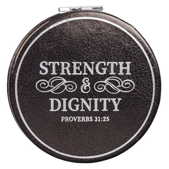 Strength & Dignity Compact Mirror (General Merchandise)