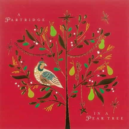 Christmas Cards: A Partridge In A Peartree (Pack of 4) (Cards)