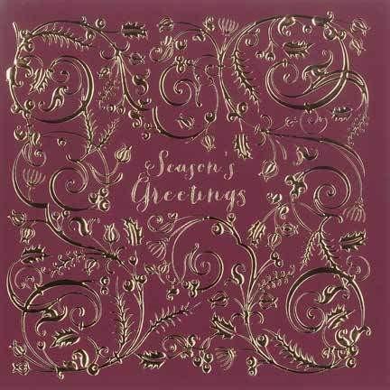 Christmas Cards: Seasons Greetings (Pack of 4) (Cards)