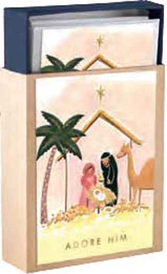 Christmas Boxed Cards: Nativity (Pack of 18) (Cards)
