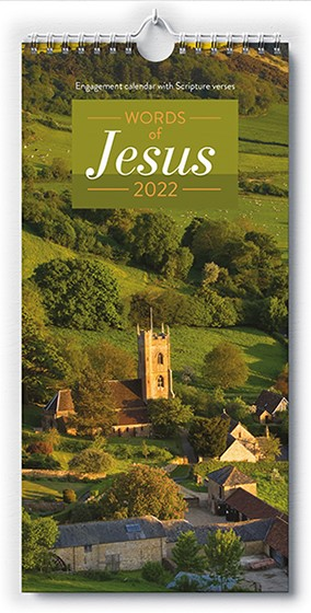 2022 Wall Calendar - Words of Jesus (Calendar)