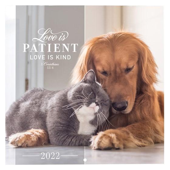 2022 Small Calendar: Love is Patient (Calendar)