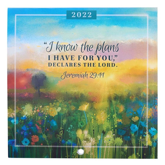 2022 Small Calendar: Jeremiah 29:11 (Calendar)