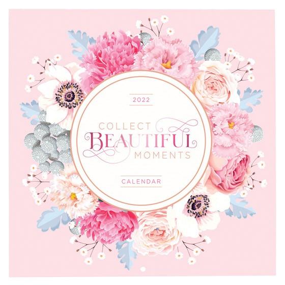 2022 Calendar: Collect Beautiful Moments (Calendar)