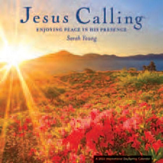 2022 Calendar: Jesus Calling (Premium) (Calendar)