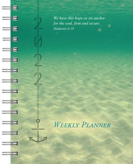 2022 Weekly Planner: Anchor (Spiral Bound)