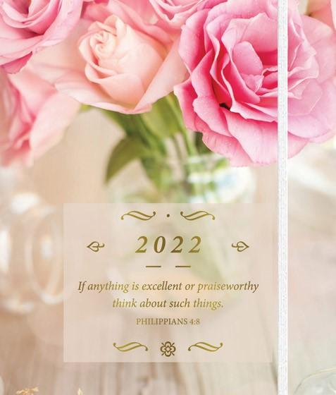 2022 Daily Planner: Floral (Spiral Bound)