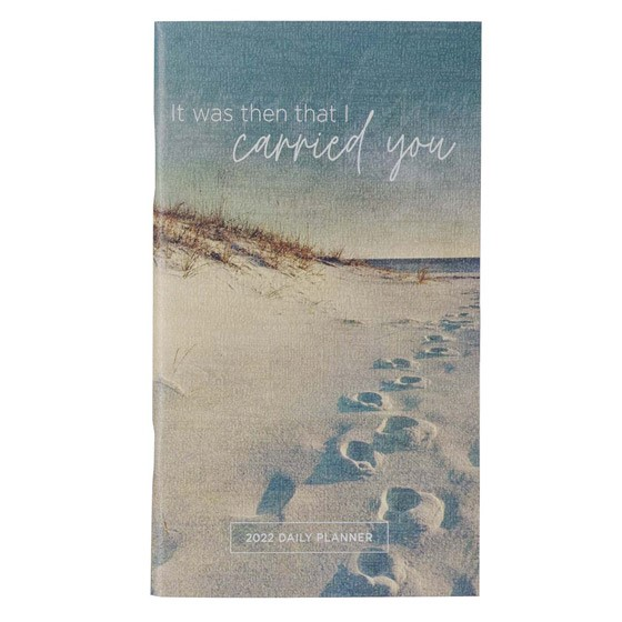 2022 Small Planner: Footprints (Paperback)