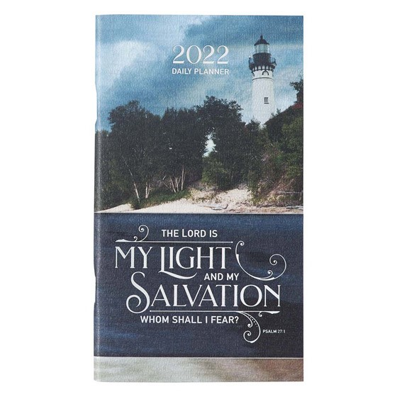 2022 Small Planner: The Lord Is My Light (Paperback)