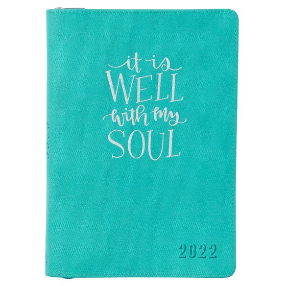 2022 Executive Planner: It is Well (Imitation Leather)