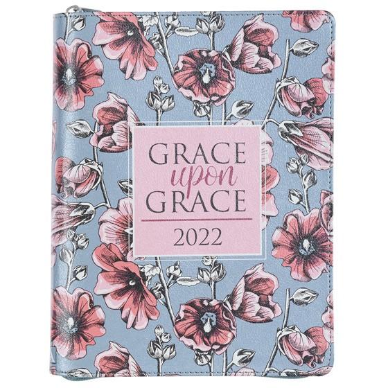 2022 Large Planner: Grace Upon Grace (Imitation Leather)