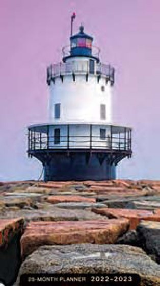 2022-2023 28 Month Planner: Lighthouse (Paperback)