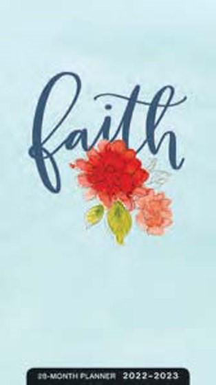2022-2023 28 Month Planner: Faith (Paperback)