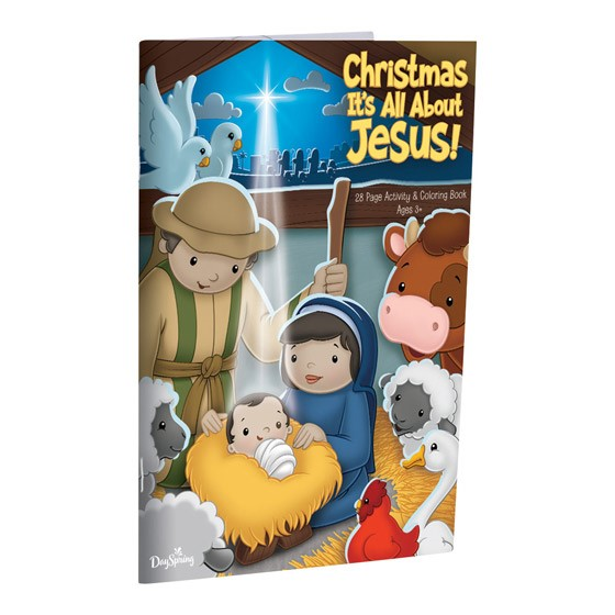 Christmas Is All About Jesus Activity Book (Paperback)
