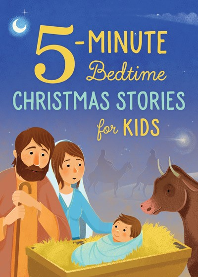 5-Minute Bedtime Christmas Stories for Kids (Paperback)