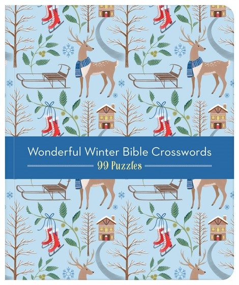 Wonderful Winter - Bible Crosswords (Paperback)