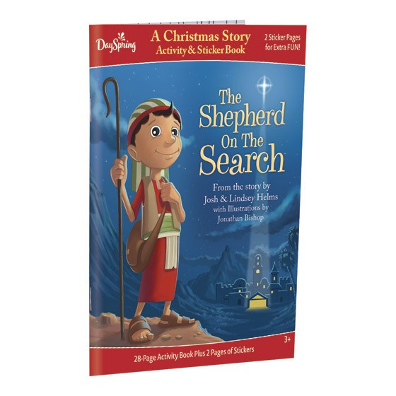 The Shepherd On The Search Family Activity & Sticker Book (Paperback)