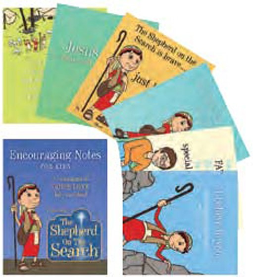 The Shepherd On The Search Affirmation Notes (Cards)