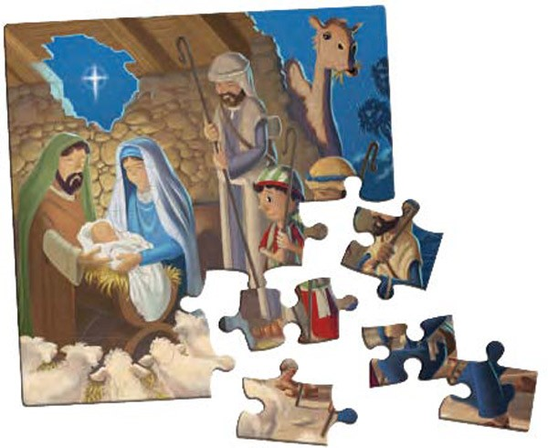 The Shepherd On The Search Jumbo Puzzle (Game)