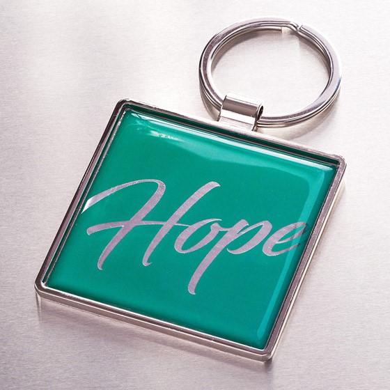 Hope Metal Keyring (Keyring)