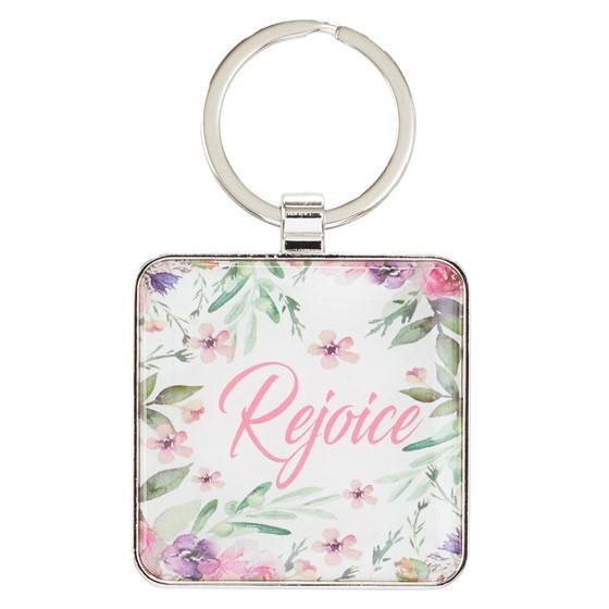 Rejoice Metal Keyring (Keyring)