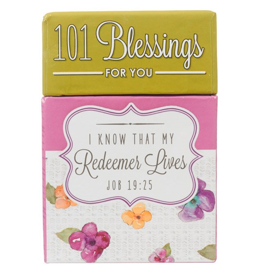 101 Blessings For You (Cards)