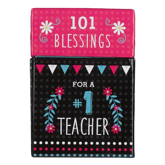 101 Blessings for a #1 Teacher (Cards)