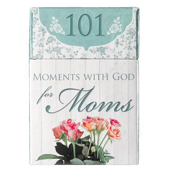 101 Moments With God for Moms (Cards)