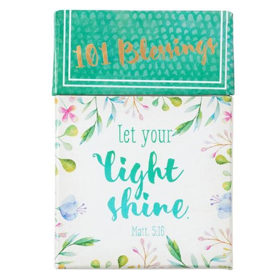 Light Shine Box of Blessings (Cards)