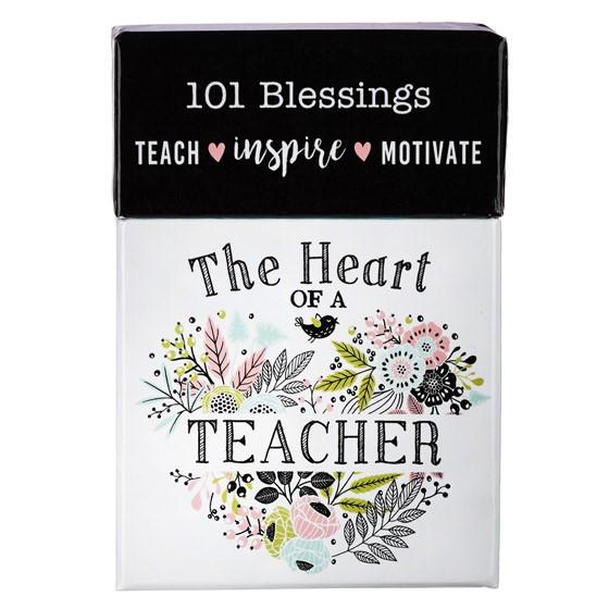 Heart of a Teacher Box of Blessings (General Merchandise)